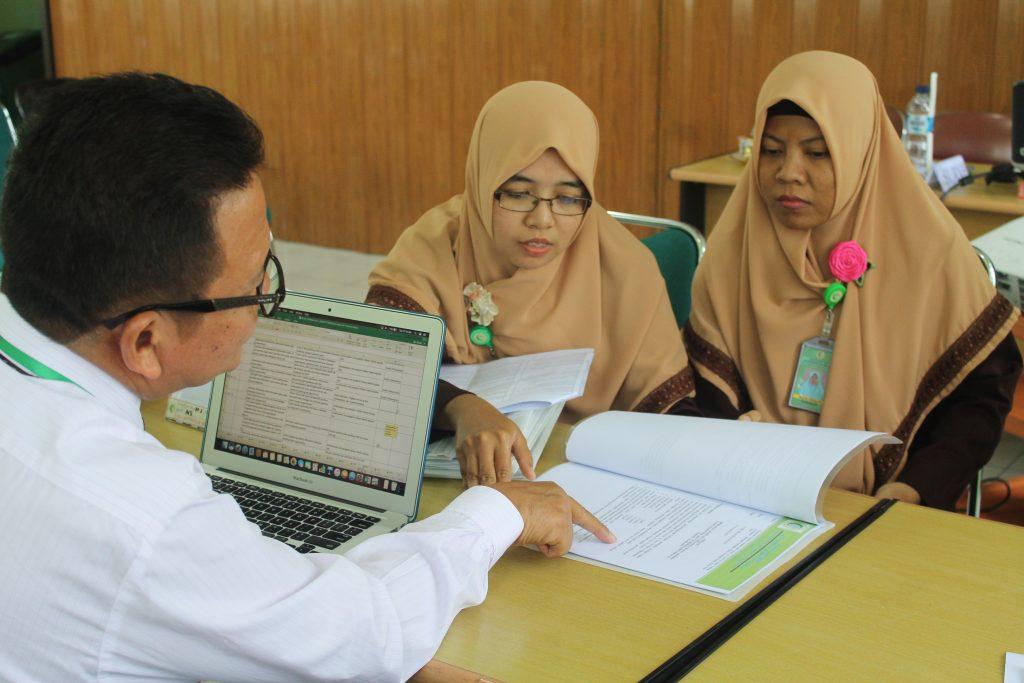 Survey verifikasi akreditasi ke-1 rs at-turots al-islamy 4
