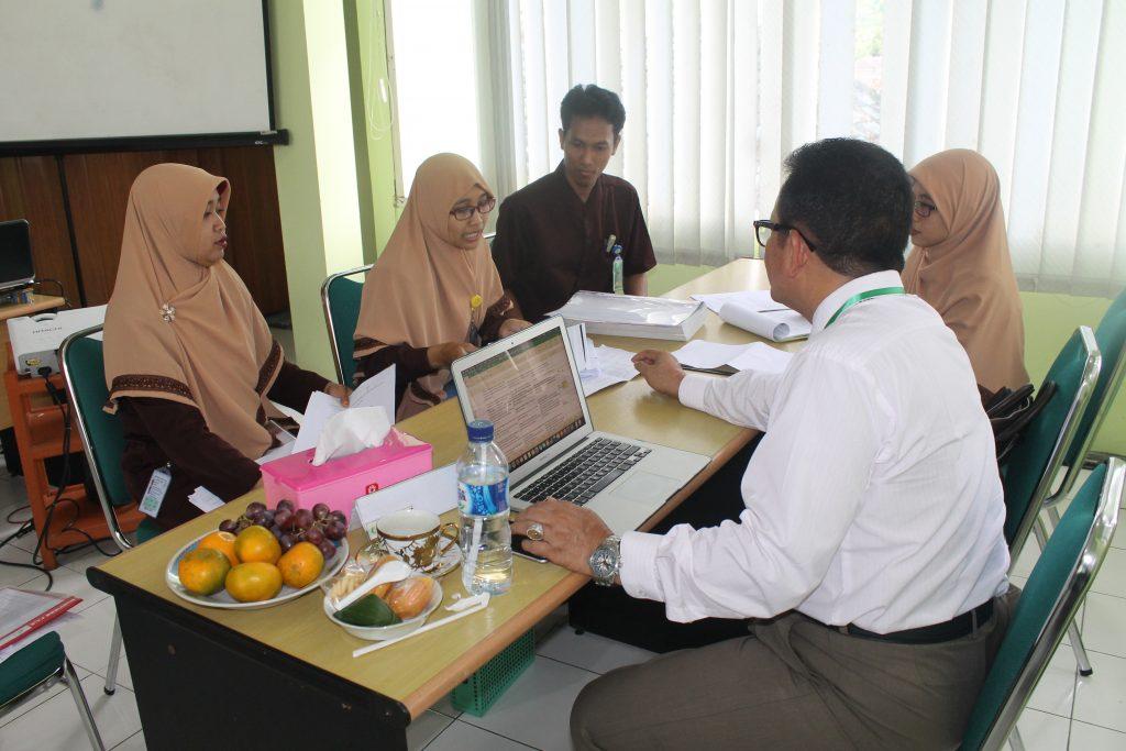 Survey verifikasi akreditasi ke-1 rs at-turots al-islamy 3
